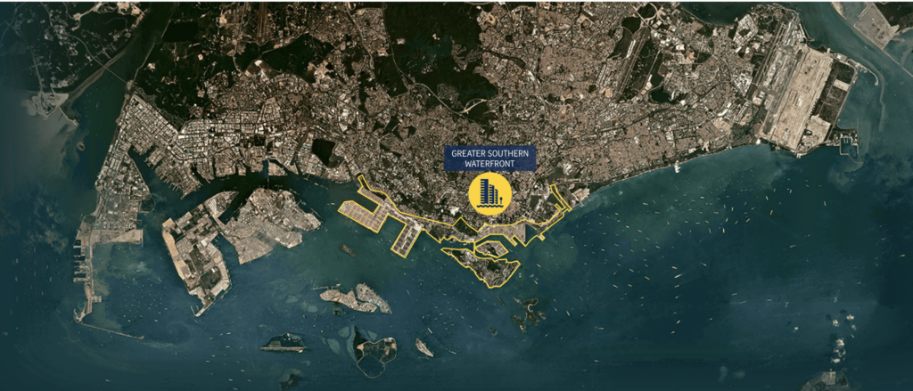 One Pearl Bank - Greater Southern Waterfront Map