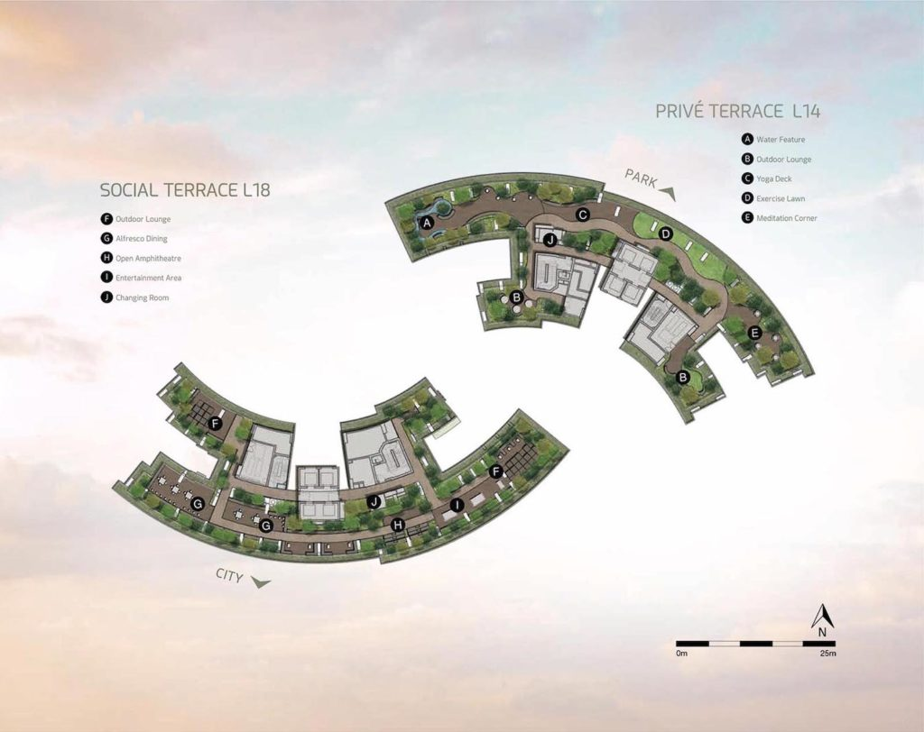 One Pearl Bank Site Plan 2 Singapore
